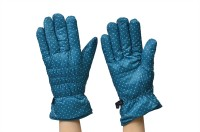 ELSON Polka Print Winter Women's Gloves