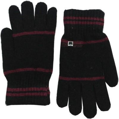 Romano Quality Striped Winter Men's Gloves