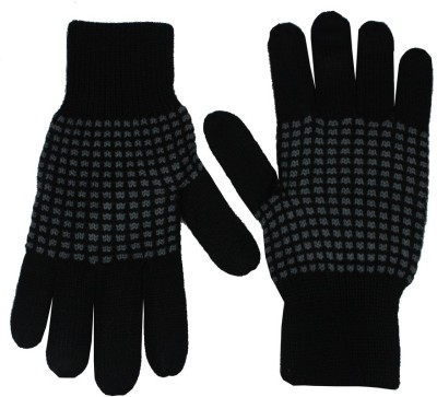 Romano Checkered Winter Men's Gloves
