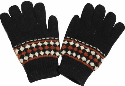 TakeIncart Graphic Print Winter Men's Gloves