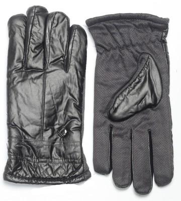 CottonFlake Solid Winter Men's Gloves