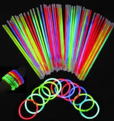 Theme My Party Disposable Glow Straws