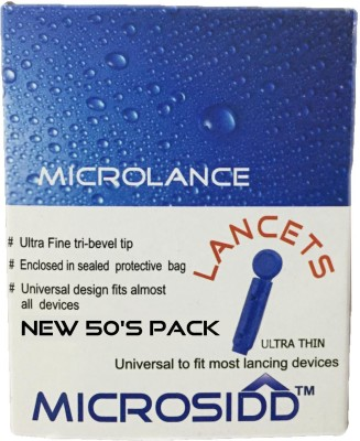 Microsidd microlance50 Glucometer Lancets(50)