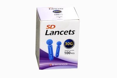 SD ROUND Glucometer Lancets