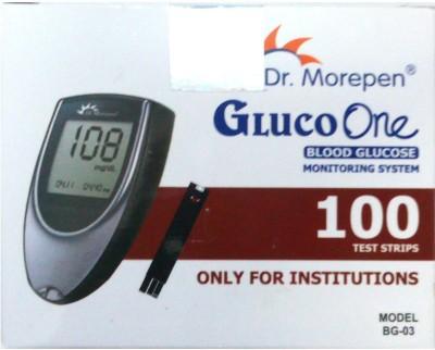 DR.MOREPEN 100 Glucometer Strips