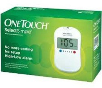 Johnson & Johnson One Touch SelectSimple Glucometer