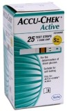 ACCU-CHEK Active Test Strips - 25 Glucom...