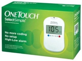 Johnson & Johnson One Touch Select Simple Glucose Monitor Glucometer