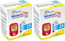 Dr. Morepen BG-02 Blood Glucose Monitoring-50 Test Strips Glucometer