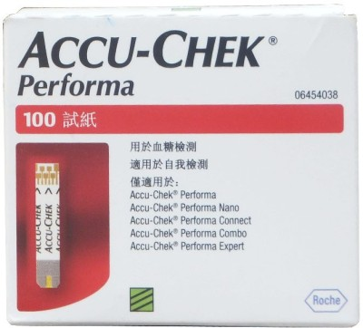ACCU-CHEK Performa Strips 100 Tests Glucometer