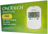 Onetouch Select Glucometer (White)