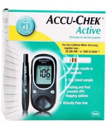 ACCU-CHEK Active Glucose Monitor Only Glucometer