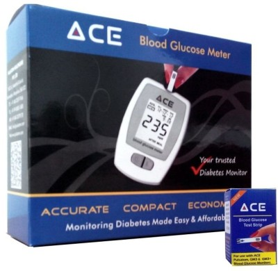 Ace Kit with 50 Strips Glucometer
