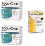 ACCU-CHEK Active 200 Strips & 200 Soft C...