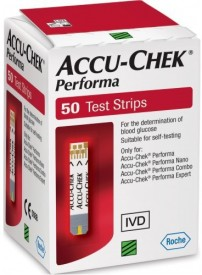 Accu-Chek Performa 50 strips only for Performa Glucometer