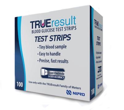 Nipro True Result Strips 100T. Glucometer