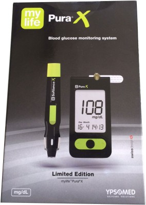 Mylife Pura X Blood Glucos Monitoring System Glucometer