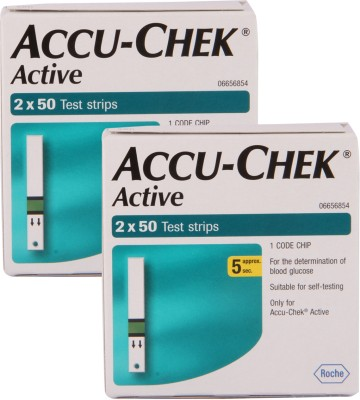 ACCU-CHEK Active Strips Glucometer