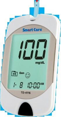 Smart Care Blood Glucose Monitoring System Glucometer