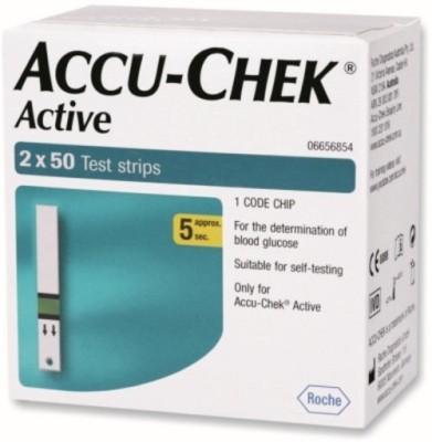 ACCU-CHEK 100 Test Strips Glucometer