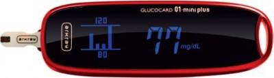 Arkray Glucocard 01-MiniPlus Glucometer(Black)
