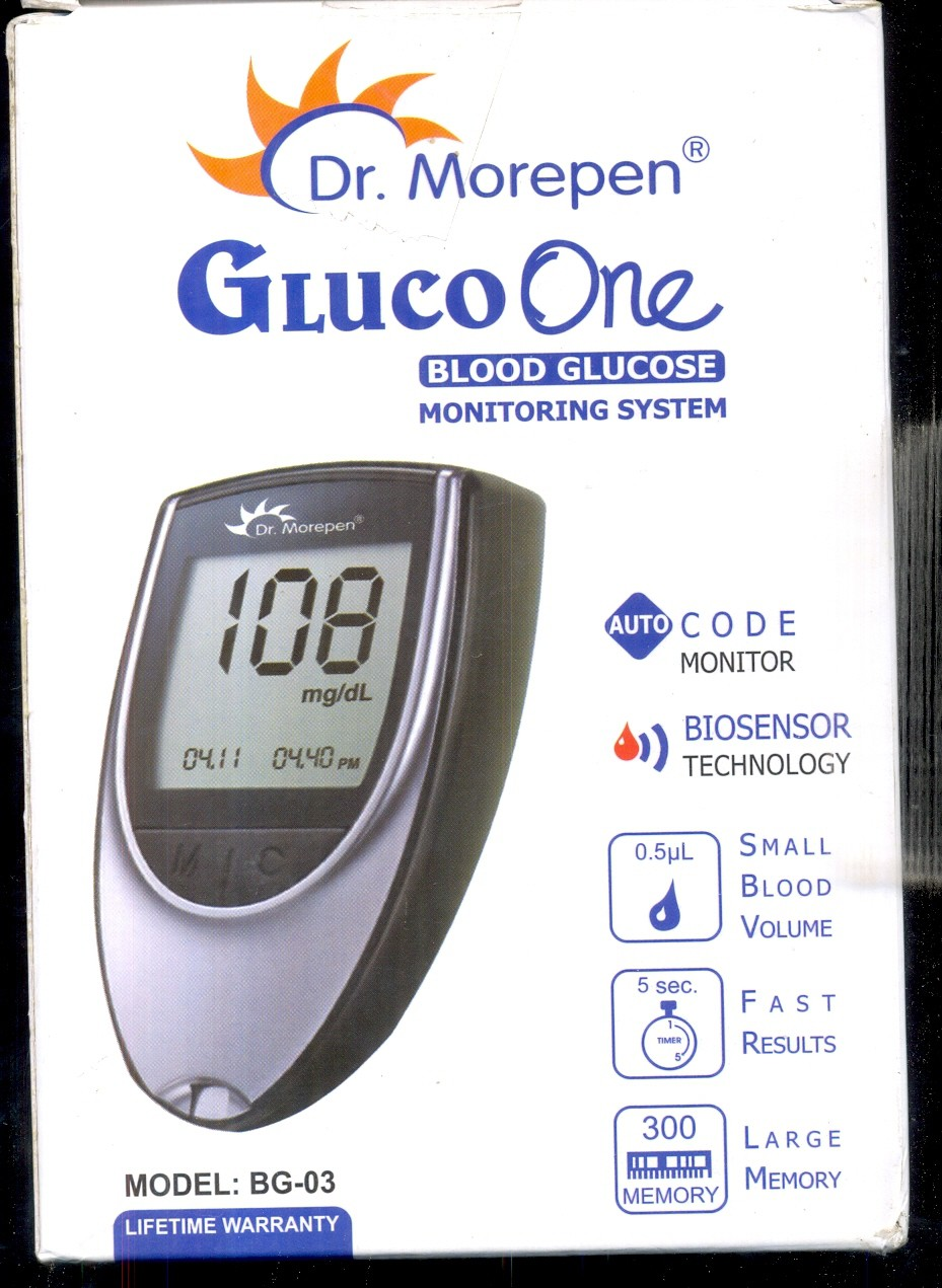 Deals | Flipkart - Glucometer From Dr.Morepen
