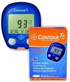 Bayer Contour TS Meter Glucometer