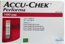 Accu-Chek Performa 100 Test Stips For Performa Glucometer