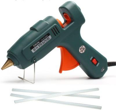 Siron Professional Dual 60 and 100 watt with 3 Sticks Hot Melt Dual Temperature Corded Glue Gun(11 mm)