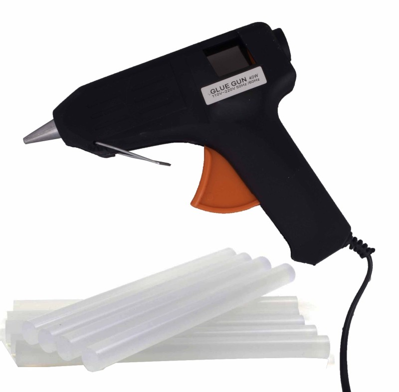 ASRAW GG40W-10 Standard Temperature Corded Glue Gun(11 mm)