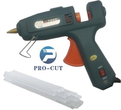 PRO-CUT 60w+100w COMBINE + 5 STICKS Dual Temperature Corded Glue Gun