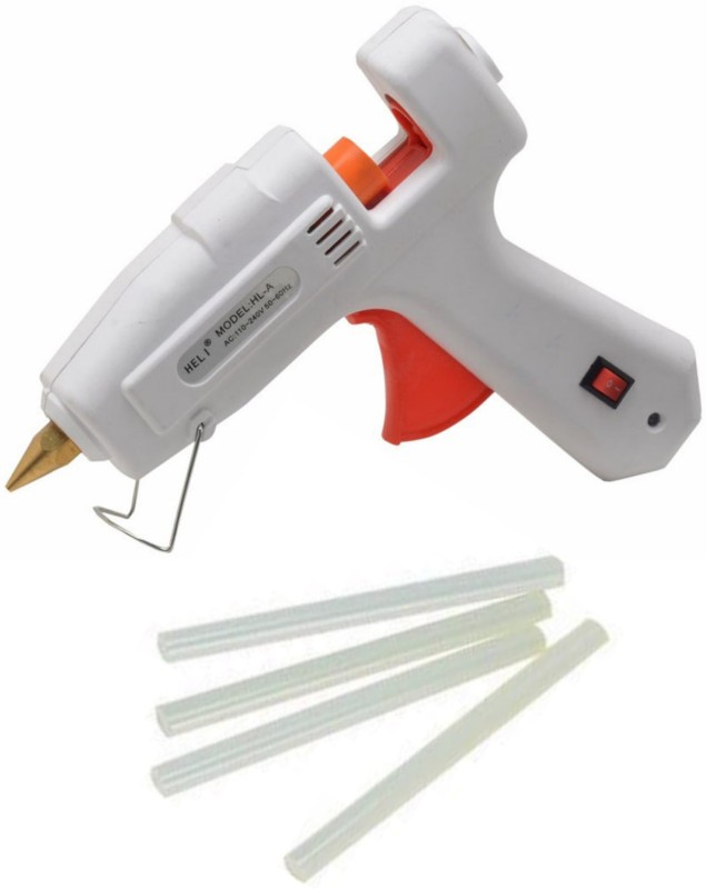 iwill Heli Dual Wattage 60 Watt Hot Melt Standard Temperature Corded Glue Gun(200 mm)