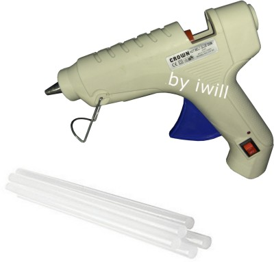 Crown With On Off Switch And Indicator Standard Temperature Corded Glue Gun(200 mm)