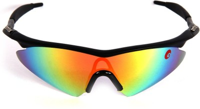 Omtex Prime Rainbow Cricket Goggles