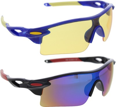 Vast Pack Of All Sports and Driving UV Protection Wrap Around Smart Cricket Goggles