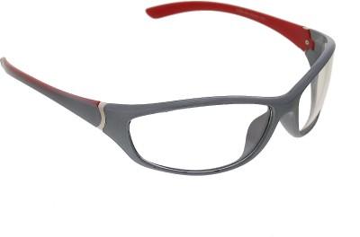 Vast All Day Plus Night Vision Transparent Wrap Around Style Premium Sports Sunglasses