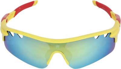 Amardeep Cycles Yellow Cycling Goggles