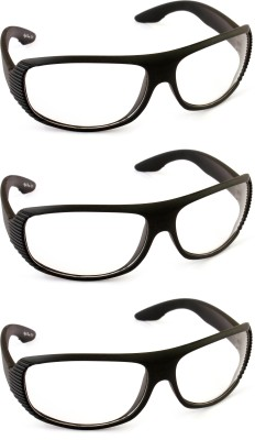 Tim Hawk Day and Night Vision Pack Of 3 Motorcycle Goggles