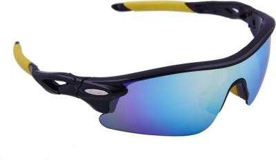 Omtex Flash Yellow Cricket Goggles