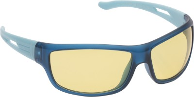 Vast Night Vision Wrap Around Cricket Goggles(Multicolor)