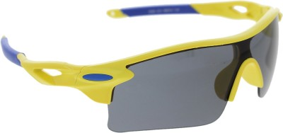 Vast 7 Layer Anti Glare Wrap Around All Sports And Cricket Goggles