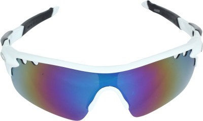 Amardeep Cycles White Cycling Goggles