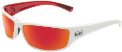 Bolle Python (TNS Fire, White/Metallic Red) Safety Goggles