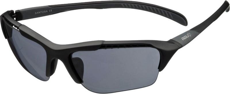 AGU Santosa Sports Glasses Cycling Goggles(Black)