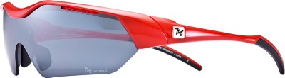 720 Armour Hitman Asian-Fit Glossy Red Eyewear And Sunglasses Cycling Goggles