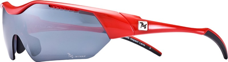 720 Armour Hitman Asian-Fit Glossy Red Eyewear And Sunglasses Cycling Goggles(Blue)