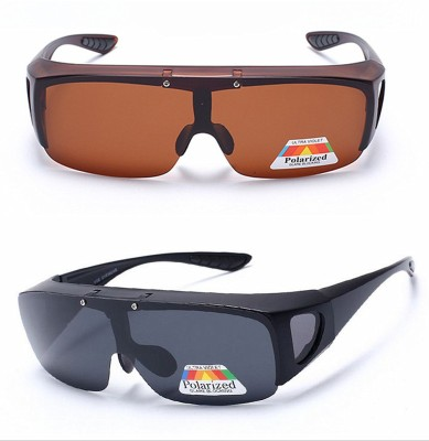 "Wonder World â""¢ Fashion Night Visionâ""¢ Unisex HD Driving Sunglasses Cool Over Wrap Around Glasses Motorcycle Goggles"