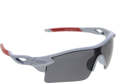 Vast SPORTY_HALF_JACKET_9181C3_grey Sports Sunglasses(Grey)