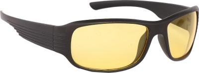 Vast Day and Night Driving Wrap-around Sunglasses