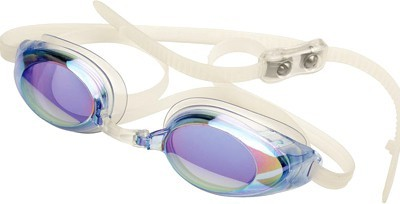 Finis Lightning Blue Mirror Water Sports Goggles